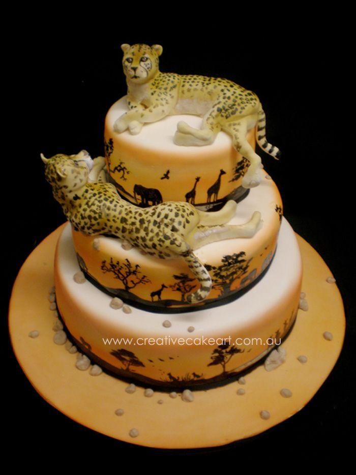 дистанционный торты в виде леопарда картинки елена прятала свою