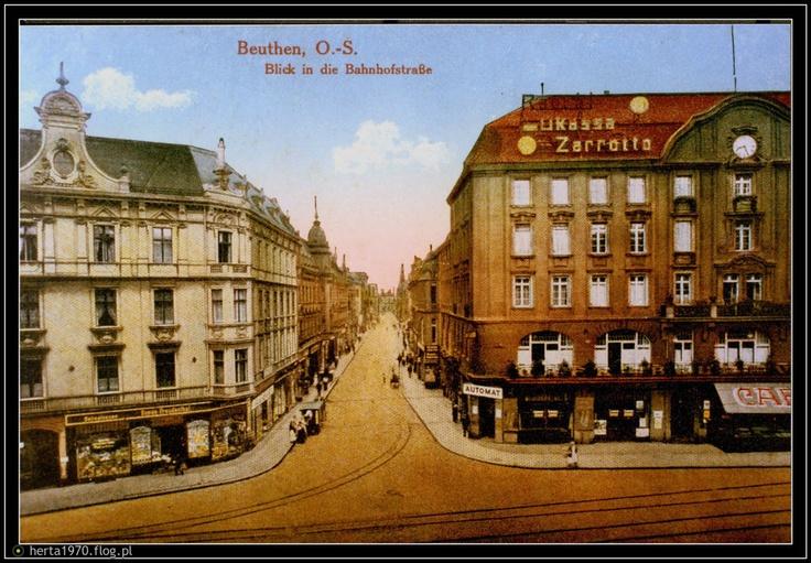 Bytom dawniej na starych pocztówkach. - Fotoblog herta1970.flog.pl