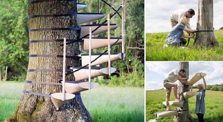Sponsored links 1- INTRODUZIONE Una scala a chiocciola costruita attorno ad un albero è senza dubbio un esperimento divertente e piacevole anche dal punto di vista estetico: è ciò a cui devono avere pensato gli inventori della cosiddetta Canopy Stair, la prima scala a chiocciola, interamente fai da te, che è stata concepita e messa …