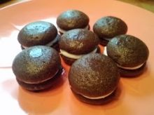 These gluten free whoopie pies are simple to make and require no special equipment.