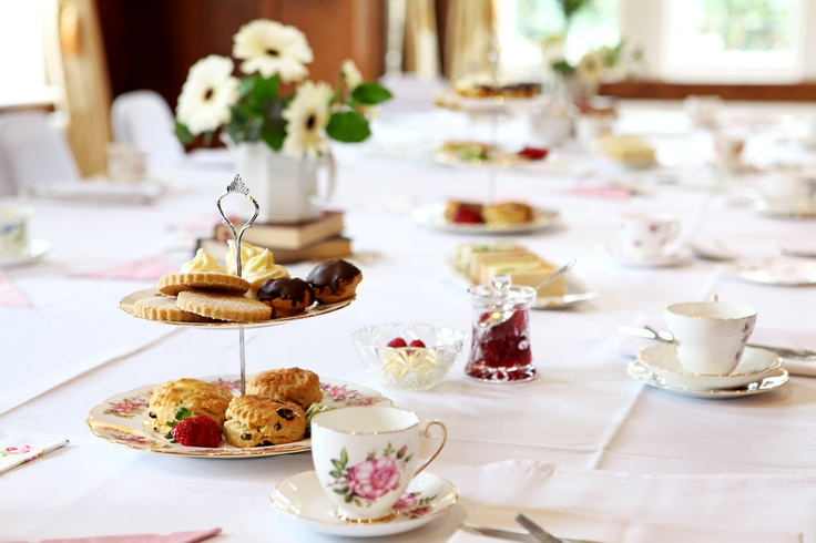 The Oak room with crockery from Pretty Pieces Perfect Days