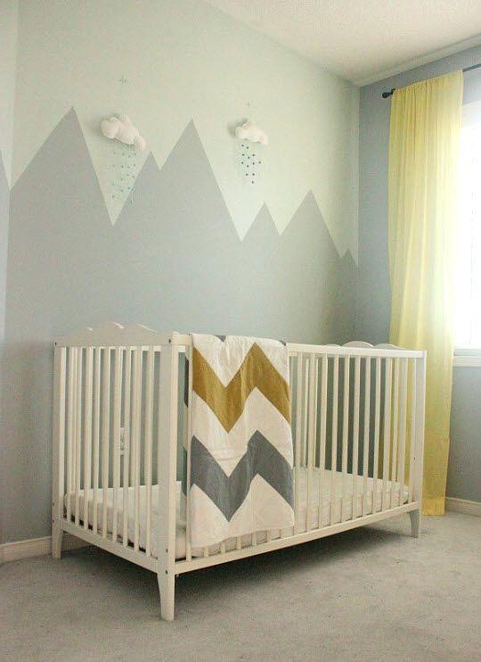 les 25 meilleures id es concernant peintures de montagne. Black Bedroom Furniture Sets. Home Design Ideas