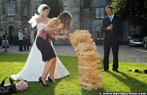 Such a great idea. Must start thinking of outdoor games for my camping-wedding!