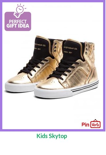 Though scaled down, the distinctive Skytop for kids still towers over its peers. The collar and tongue contain a comfortable, padded mesh lining that provides a snug fit. The authentic vulcanized sole gives a distinguished and classic look. Check out at http://pinverts.com/Kids-Skytop_07k8u79