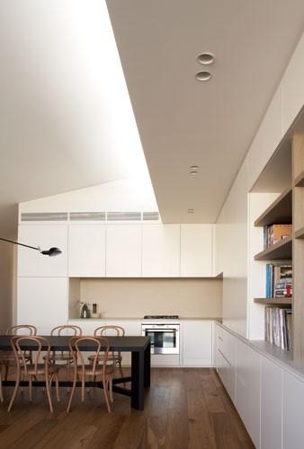 Smoked American Oak timber floors by Royal Oak Floors. Robson Rak Architects - kerferd www.royaloakfloors.com.au