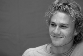 Heath.   So sad he is gone...talent was incredible!