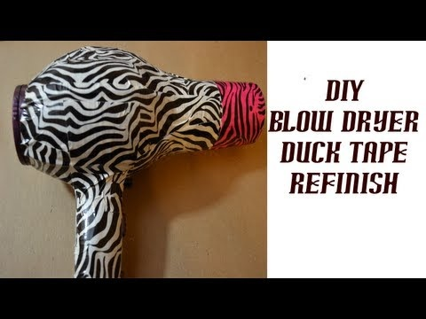 Duck tape and a cracked blow dryer! #pinterestTape Washi Tape, Duct Tape, Tape Projects, Duck Tape, Ducks Tape Washi, Tape Blowing, Tape Ideas, Tape Duct