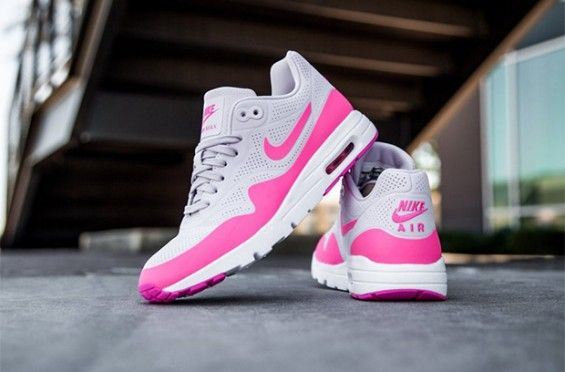 A New Pink Nike Air Max 1 Just Released For The Ladies http://SneakersCartel.com #sneakers #shoes #kicks #jordan #lebron #nba #nike #adidas #reebok #airjordan #sneakerhead #fashion #sneakerscartel