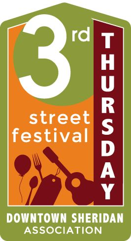 The 3rd Thursday Street Festivals fill the historic Main Street District with live music, a variety of food and beverage vendors, unique crafts, shopping, games and so much fun. These festivals are very family-friendly and a staple to the Sheridan summer lineup.