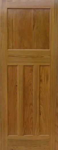 1930s 1-over-3 panel door (ignore colour) Pine 1930s door