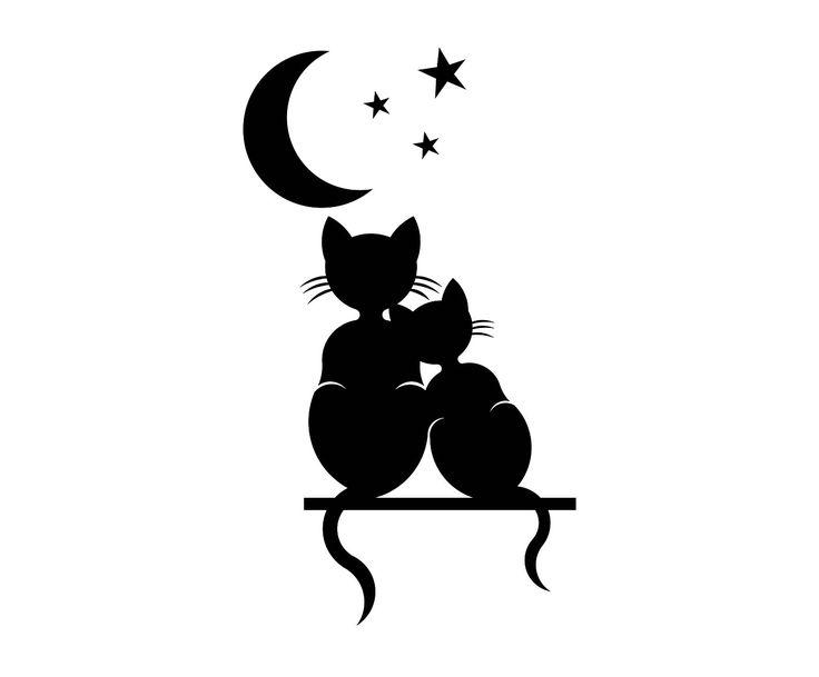 amor de silueta gato - photo #42