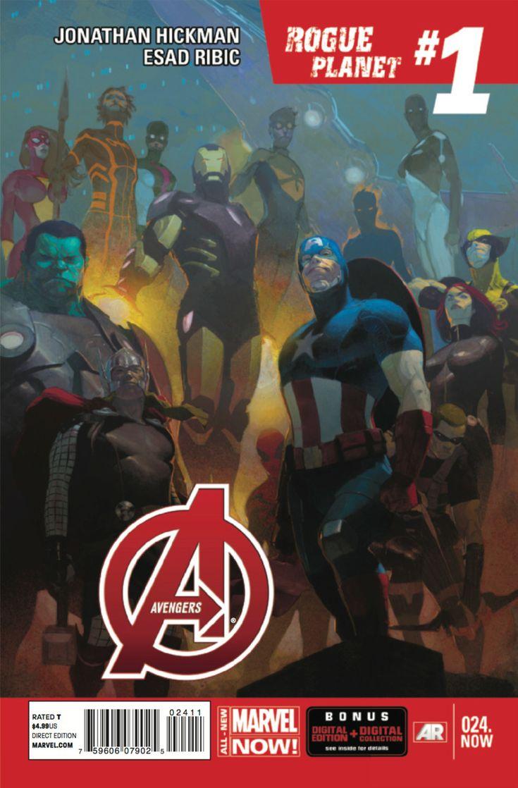 Avengers Vol. 5 # 24 by Esad Ribic