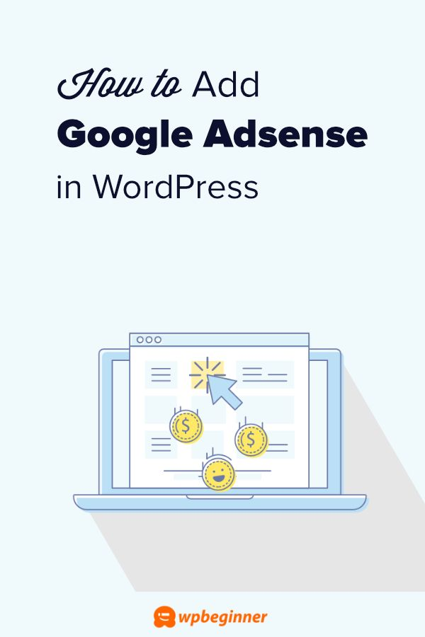 how to add google adsense to your website