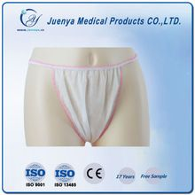 White Nonwoven Disposable Sexy Thong For Women / female Best Buy follow this link http://shopingayo.space