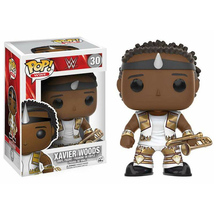 Xavier Woods from The New Day Brought to you by Pop In A Box, the site Funko Pop! Vinyl shop
