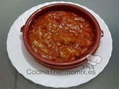 mollejas de pollo en salsa