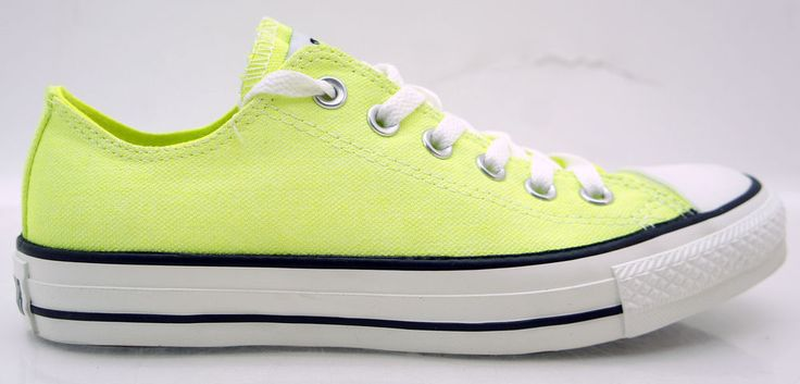 Converse All Star Chucks CT OX Schuhe Sneaker Damen Neon Gelb