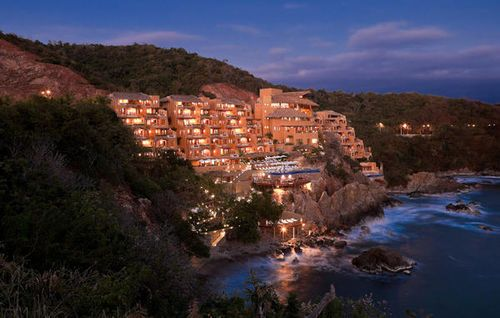 Capella Ixtapa Resort & Spa is perched along a beautiful cliff that faces the ocean. Rooms from $299 per night.