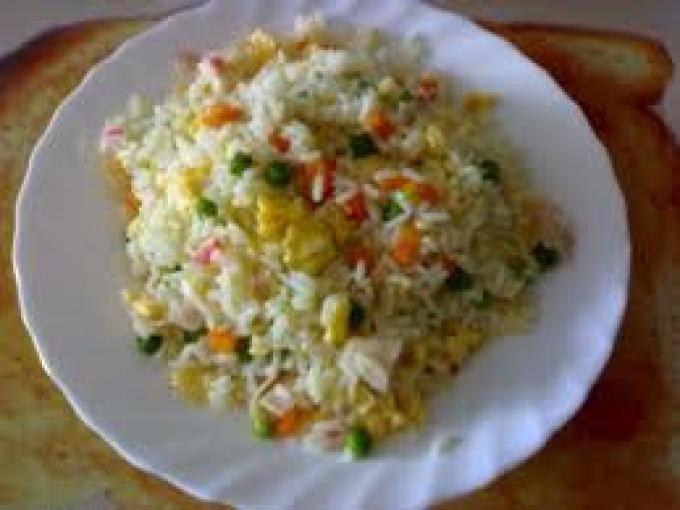 Receta : Receta comida arroz frito por Andres