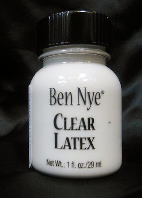 """Liquid Latex from Ben Nye is a must for any special fx artist kit. Liquid Latex is a form of natural rubber that can be used in many different ways. Liquid Latex can be used to """"age"""" skin with a stret"""