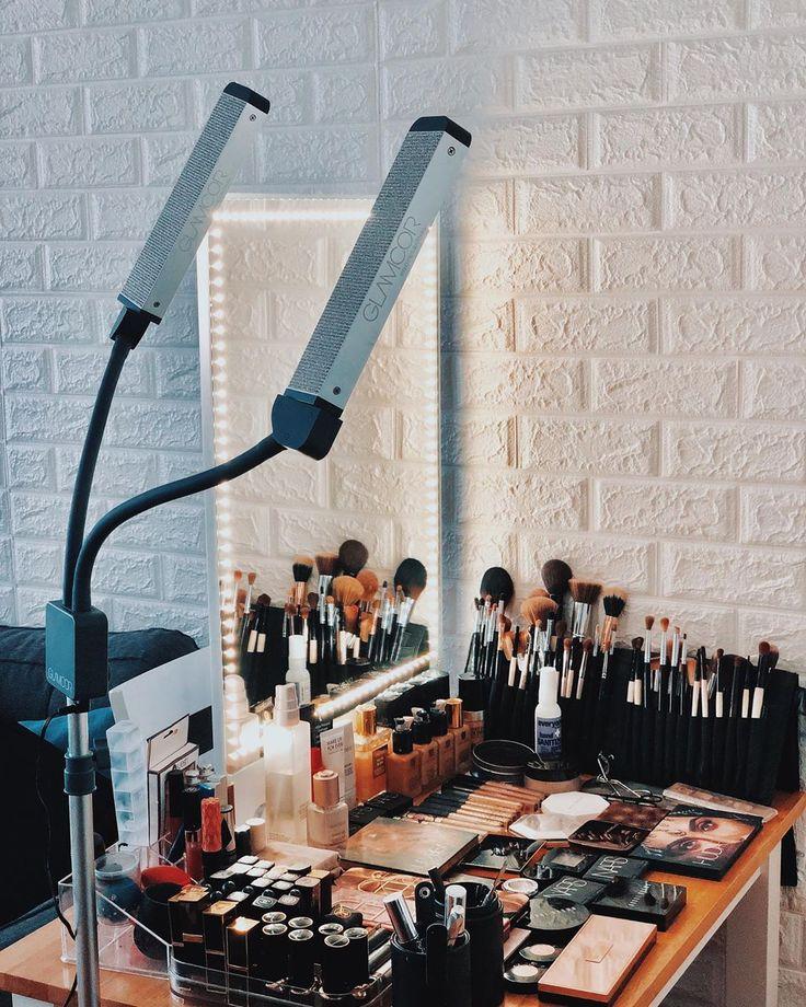 Riki tall Beauty room decor, Makeup mirror with lights