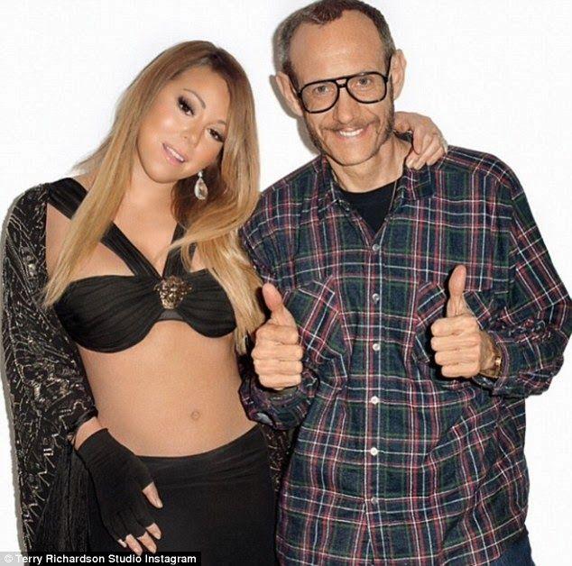NEWS ALERT: Terry Richardson shoots Mariah Carey for magazine cover..!