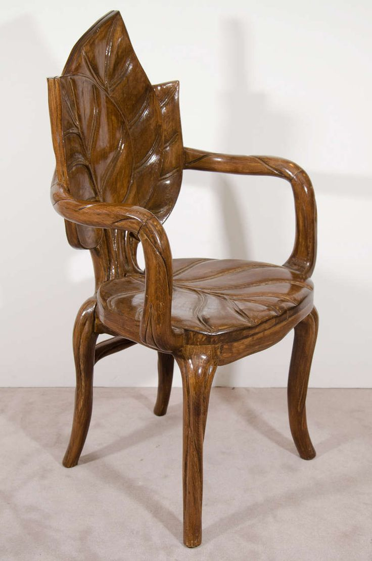 20th century euro art nouveau carved wood chair - Yahoo Image Search Results
