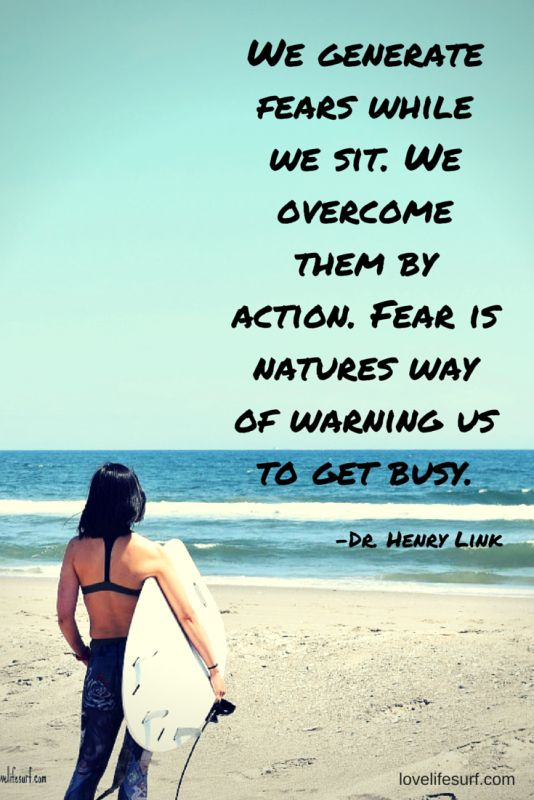 Fear can paralyze you - hold you in place and suffocate you. Or it can set you free. You can choose how you perceive fear. What can you learn from leaning into your fear?