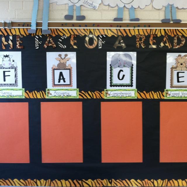 Cafe bulletin board! Jungle theme!