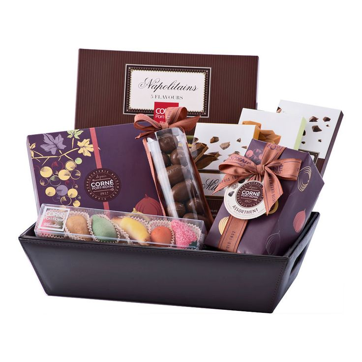 Autumn Chocolate Hamper - Delivery in France by GiftsForEurope