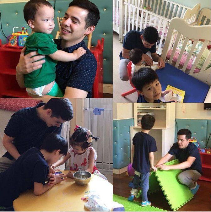 David Archuleta ~ #Shanghai #shanghaibabyshome #China #orphans