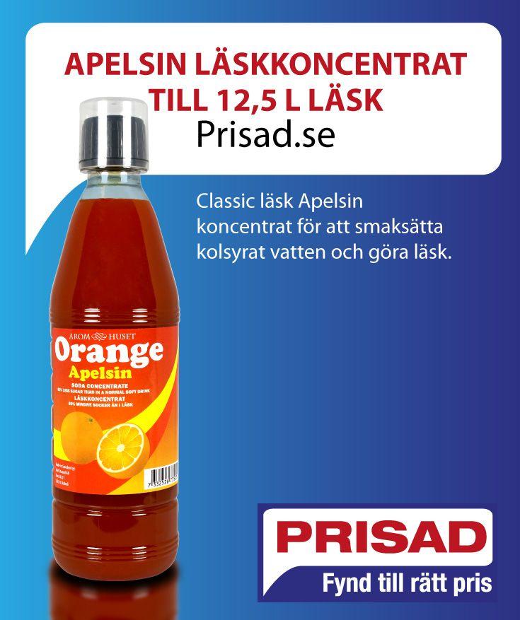 Classic läsk Apelsin koncentrat för att smaksätta kolsyrat vatten och göra läsk.