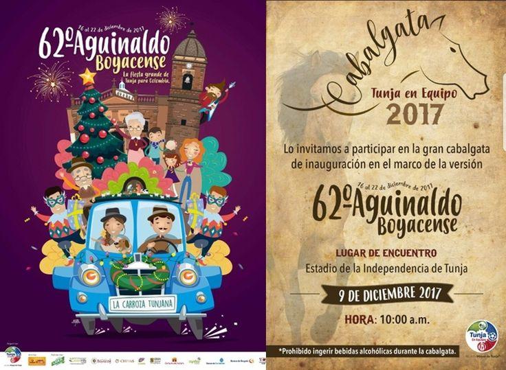 En Boyacá se celebra todos los diciembres desde 1947, el Aguinaldo Boyacence, cuando un agente de Policía, Carlos Julio Umaña, inició actividades de aguinaldos