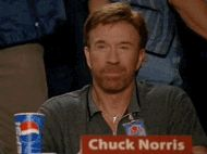 Chuck Norris approves gif tumblr When words fail