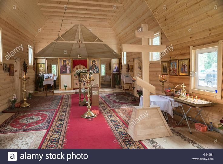 Download this stock image: Inside the church of the twelve apostles, Moscow, Russia - G542B1 from Alamy's library of millions of high resolution stock photos, illustrations and vectors.