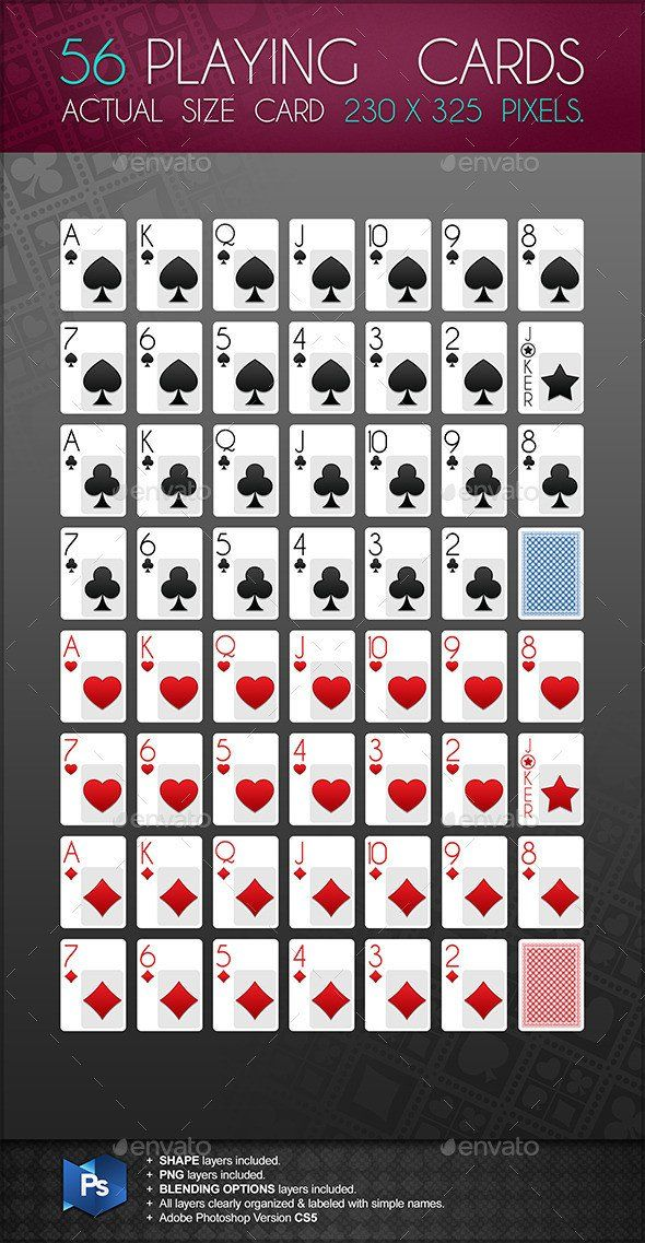Playing Card Template Photoshop Playing Card Template For Shop Dondrup Card Template Printable Cards Cards