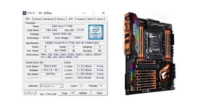 Weltrekorde purzeln: Intels CPU-Baureihe Kaby Lake X lässt sich mit flüssigem Helium recht gut übertakten.