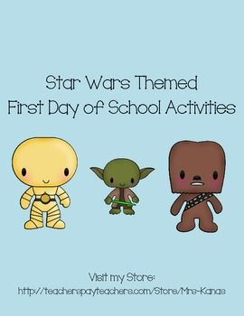 Star Wars Icebreakers for First Day of School Fun!  This pack includes:  - Add up Your Summer - students add up points depending on their summer activities.  - Mix & Mingle - students find classmates who meet different descriptions.   - 3 Truths and a Lie - students read sentences about themselves to a partner...but one is a lie...which is it?  - Roll and Share - encourages discussion between two students about familiar subjects.  - Me, By the Numbers - students write down numbers that ...