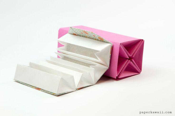 25 best ideas about paper box tutorial on pinterest diy. Black Bedroom Furniture Sets. Home Design Ideas