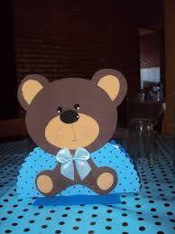 Resultado de imagem para molde de ursinhos  em eva