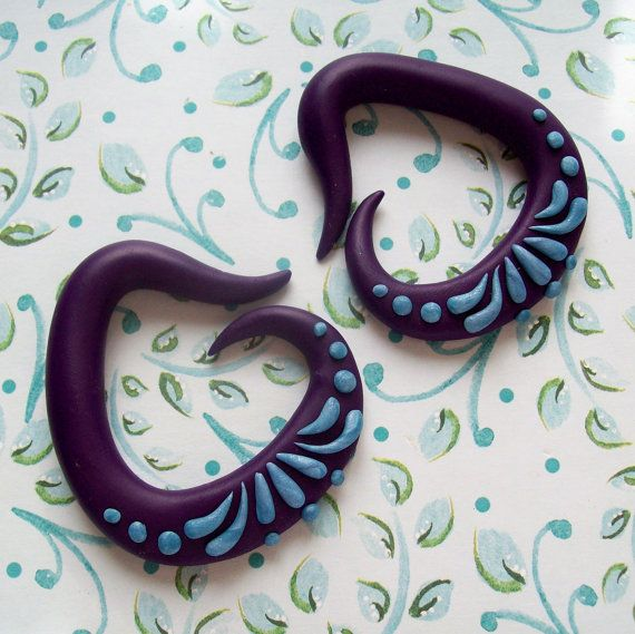Pasiley Gauges by TheCreatorsCreations on Etsy, $36.00