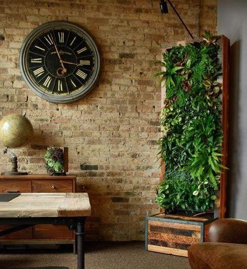 M s de 25 ideas fant sticas sobre jardines verticales - Jardines verticales interiores ...