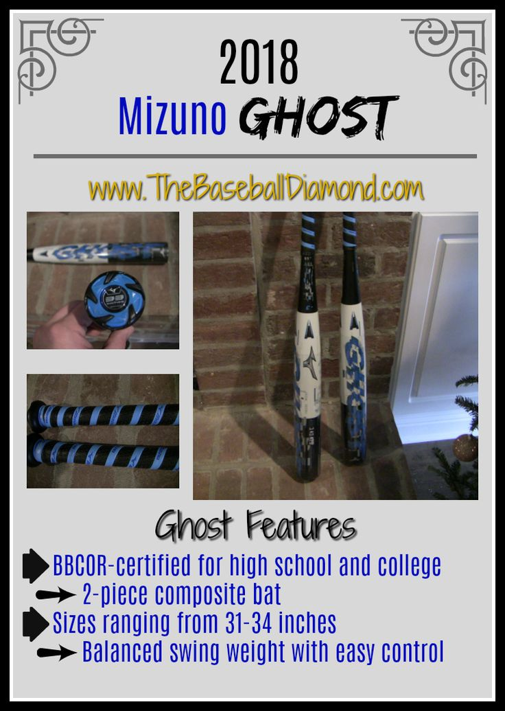 2018 Mizuno Ghost BBCOR Review – Biggest Barrel This Season?  Every bat company wants to claim the biggest barrel but has Mizuno finally reached the top?    Find out while reading this in-depth review.