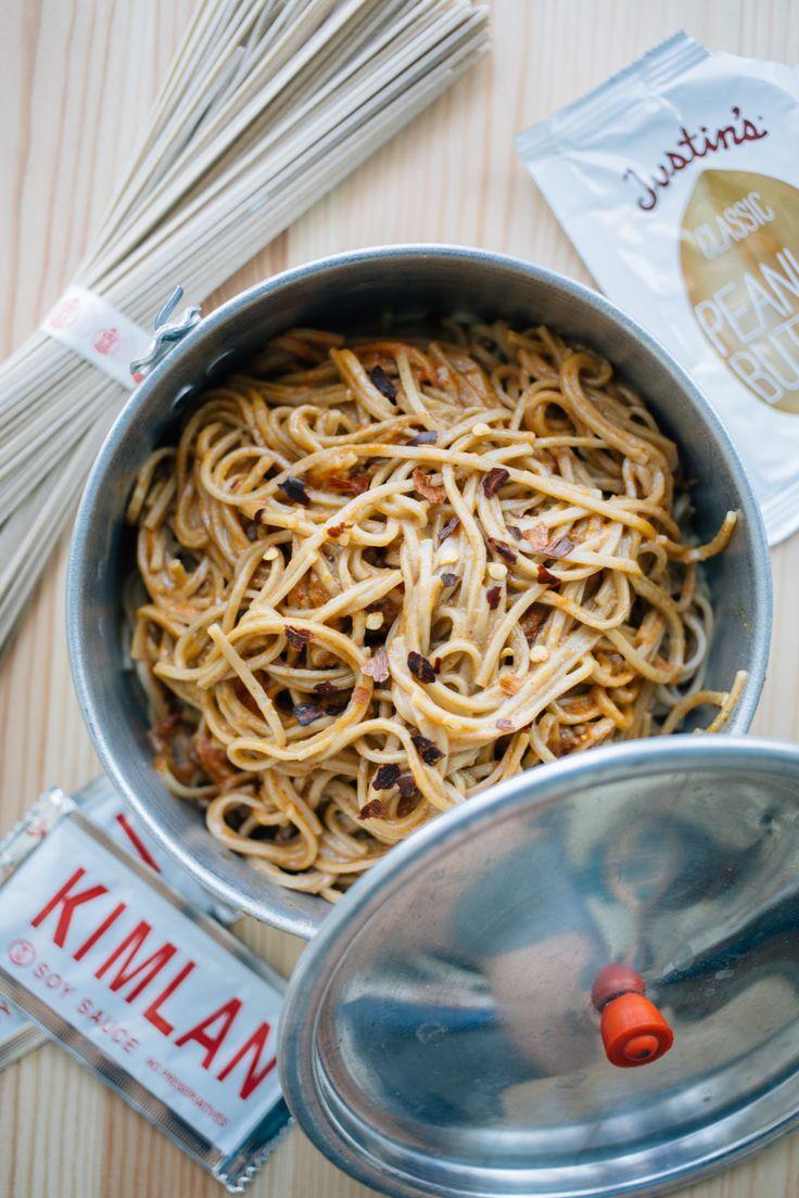 A Foodie's 2-Day, 3-Night Backpacking Menu -- Dan Dan Style Soba Noodles