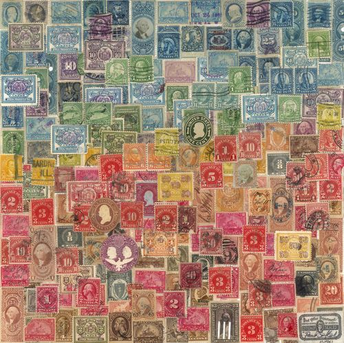Something pretty to do with my childhood stamp collection perhaps