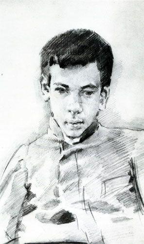 М. А. Врубель Портрет мальчика. 1904-1905
