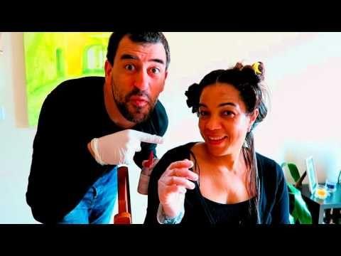 Bem vindos, hoje venho mostrar-vos como pintei o meu cabelo e quem me ajudou.... Usei a tinta da L'ORÉAL a cor 316 Violin Ameixa. Aqui em Portugal existem vá...