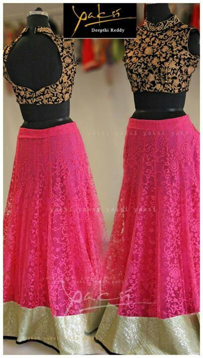 .Simple and elegant lehenga choli design