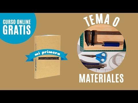 Como hacer un libro | Materiales | Mi primera encuadernación (Tutorial encuadernar libro) - YouTube