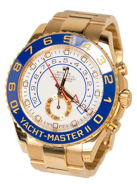 Men's Yacht Master II Rolex Watch